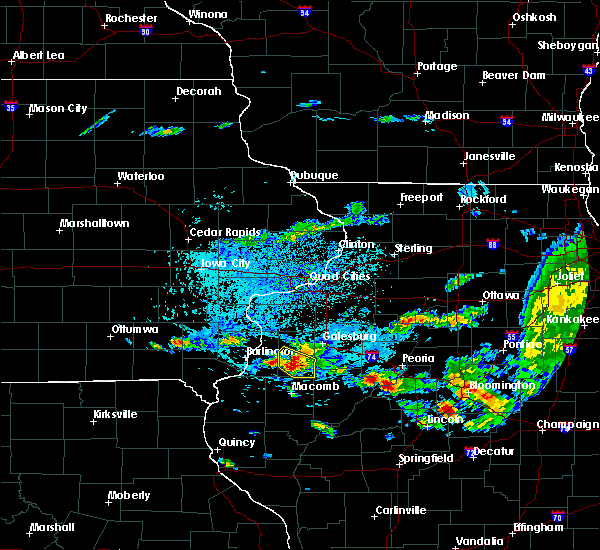 Radar Image for Severe Thunderstorms near Avon, IL at 9/10/2015 3:15 PM CDT
