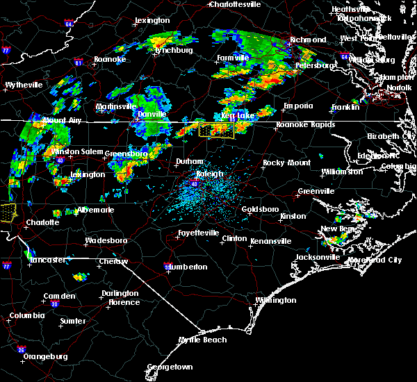 Radar Image for Severe Thunderstorms near Norlina, NC at 9/10/2015 4:55 PM EDT