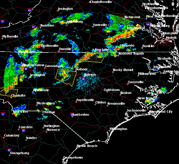 Radar Image for Severe Thunderstorms near Durham, NC at 9/10/2015 5:35 PM EDT