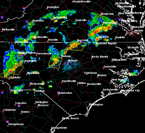 Radar Image for Severe Thunderstorms near Durham, NC at 9/10/2015 5:47 PM EDT