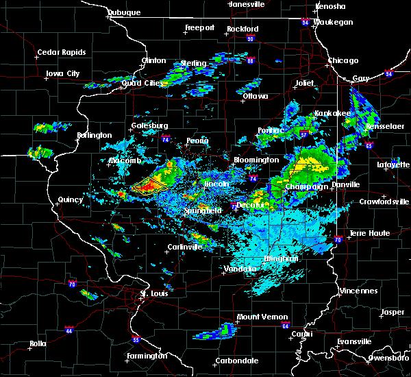 Radar Image for Severe Thunderstorms near Kilbourne, IL at 9/10/2015 4:50 PM CDT
