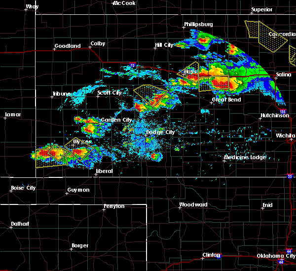 Radar Image for Severe Thunderstorms near Moscow, KS at 9/10/2015 7:35 PM CDT