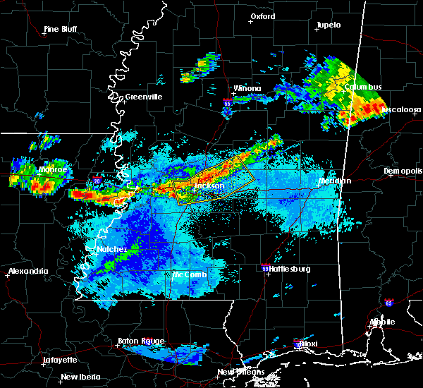 Radar Image for Severe Thunderstorms near Brandon, MS at 9/11/2015 6:20 PM CDT