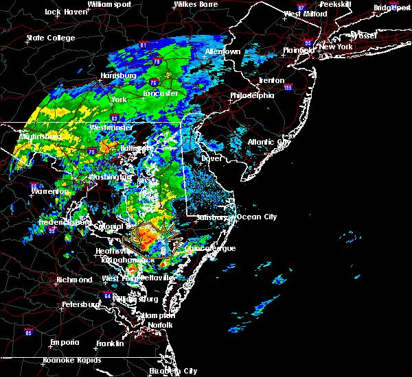 Radar Image for Severe Thunderstorms near Lexington Park, MD at 9/12/2015 11:12 AM EDT
