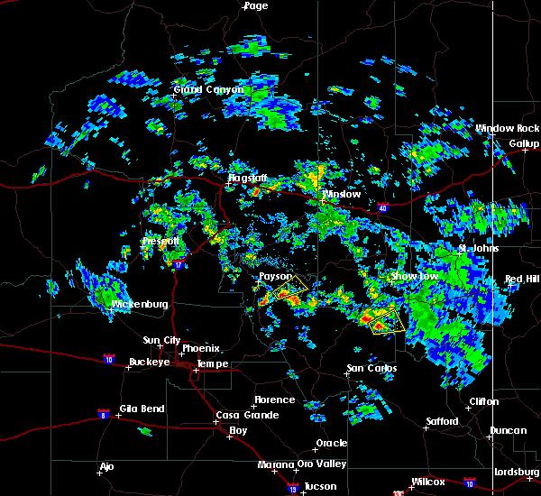 Radar Image for Severe Thunderstorms near Cedar Creek, AZ at 9/13/2015 2:55 PM MST