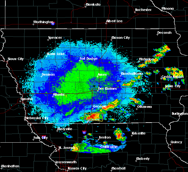 Radar Image for Severe Thunderstorms near Grand River, IA at 9/17/2015 10:25 PM CDT