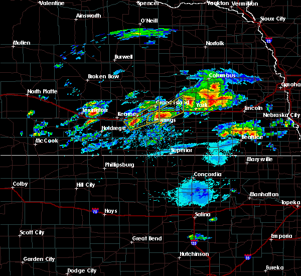 Radar Image for Severe Thunderstorms near Grand Island, NE at 9/18/2015 8:49 AM CDT