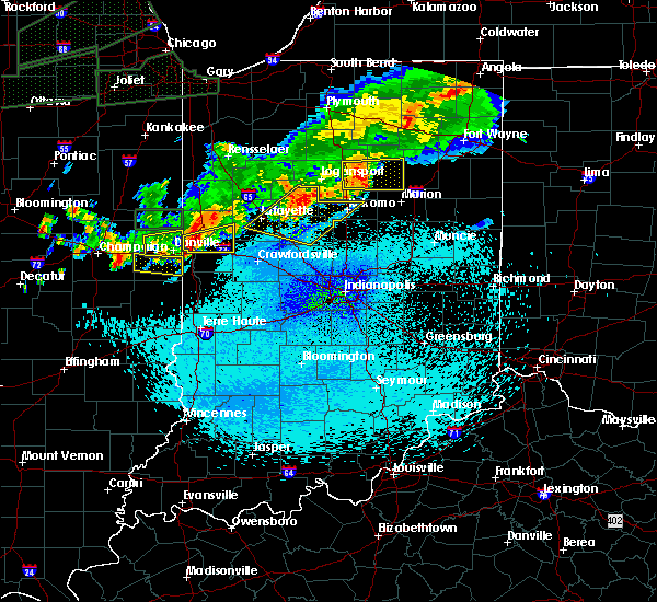 Radar Image for Severe Thunderstorms near West Lebanon, IN at 9/18/2015 11:23 PM EDT