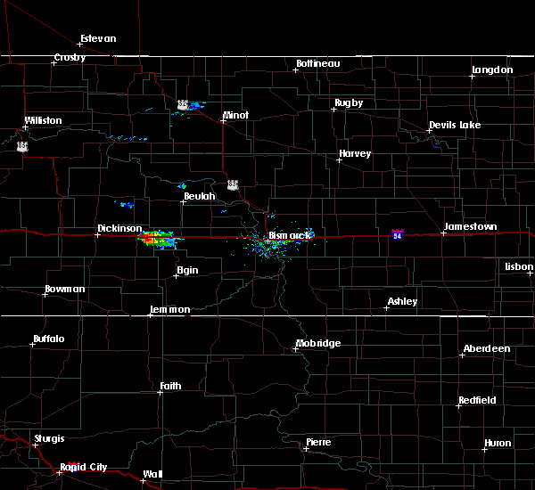 Radar Image for Severe Thunderstorms near Hebron, ND at 9/30/2015 6:00 PM MDT