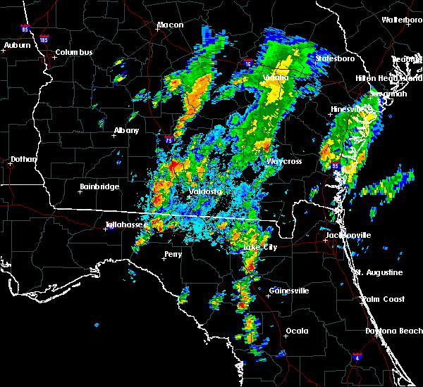 Radar Image for Severe Thunderstorms near Adel, GA at 10/1/2015 7:03 PM EDT