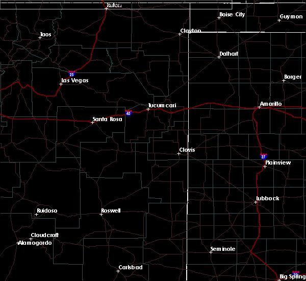 Radar Image for Severe Thunderstorms near Clovis, NM at 10/7/2015 4:20 PM MDT