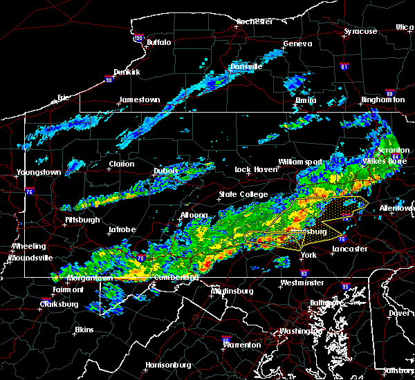 Radar Image for Severe Thunderstorms near Carlisle, PA at 10/9/2015 3:09 PM EDT