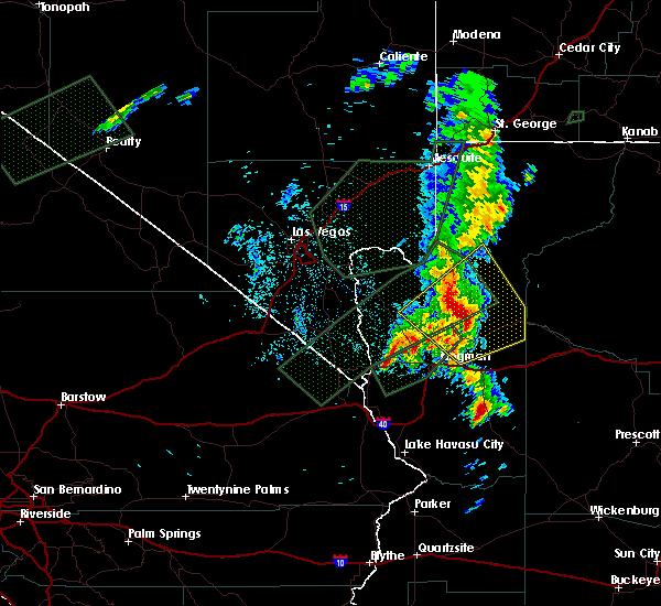Radar Image for Severe Thunderstorms near Truxton, AZ at 10/18/2015 9:03 PM MST