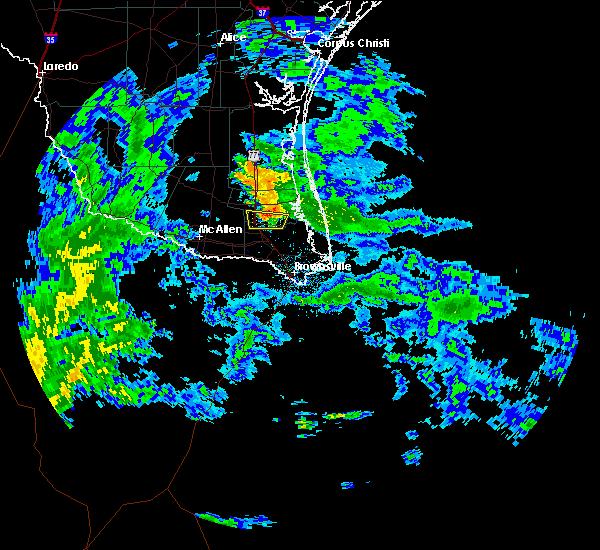 Radar Image for Severe Thunderstorms near Lyford, TX at 10/30/2015 6:39 AM CDT