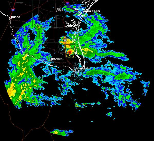 Radar Image for Severe Thunderstorms near Raymondville, TX at 10/30/2015 6:51 AM CDT