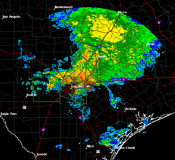 Radar Image for Severe Thunderstorms near Wimberley, TX at 10/30/2015 7:10 AM CDT