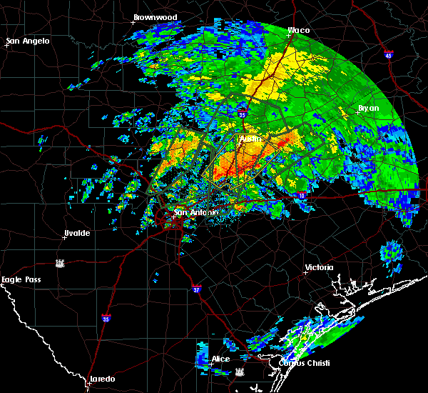 Radar Image for Severe Thunderstorms near Wimberley, TX at 10/30/2015 10:19 AM CDT