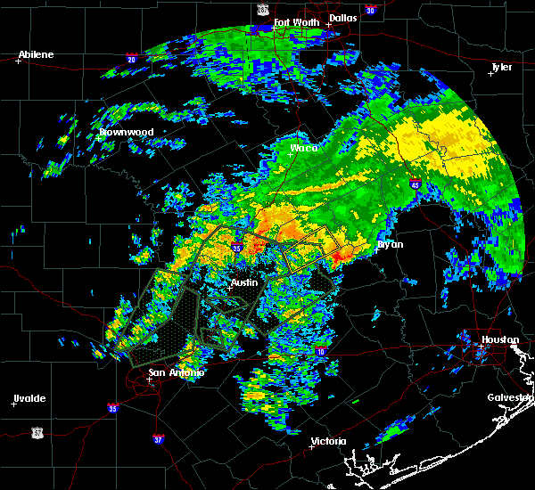Radar Image for Severe Thunderstorms near Lake Bryan, TX at 10/30/2015 1:06 PM CDT