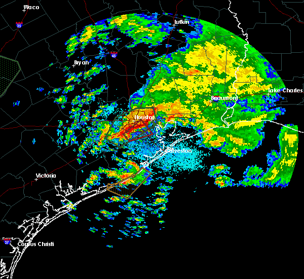 Radar Image for Severe Thunderstorms near Pasadena, TX at 10/31/2015 3:05 AM CDT