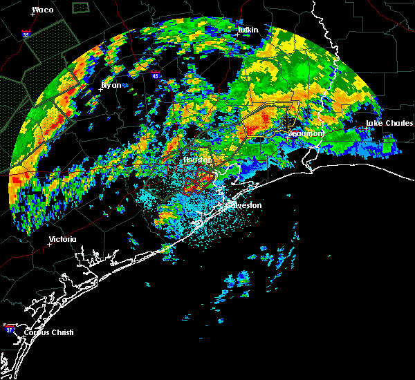 Radar Image for Severe Thunderstorms near Alvin, TX at 10/31/2015 5:21 AM CDT