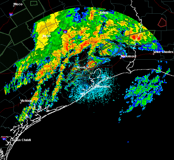 Radar Image for Severe Thunderstorms near Channelview, TX at 10/31/2015 7:16 AM CDT
