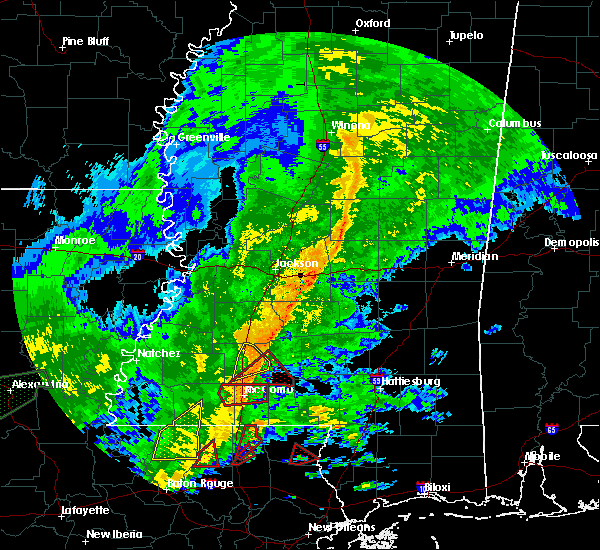 Radar Image for Severe Thunderstorms near Bogue Chitto, MS at 10/31/2015 2:16 PM CDT