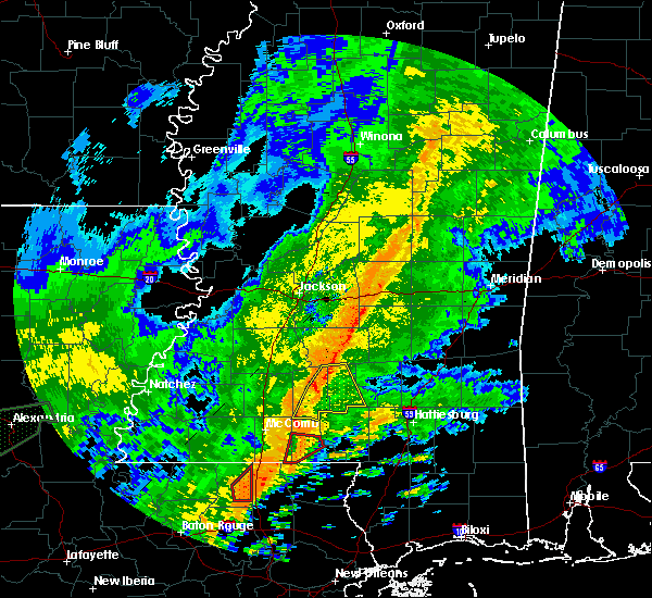 Radar Image for Severe Thunderstorms near Prentiss, MS at 10/31/2015 2:47 PM CDT