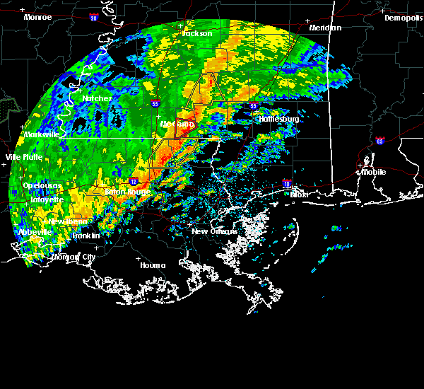 Radar Image for Severe Thunderstorms near Independence, LA at 10/31/2015 3:08 PM CDT