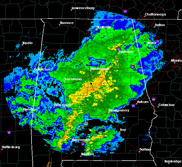 Radar Image for Severe Thunderstorms near Oak Hill, AL at 10/31/2015 8:27 PM CDT