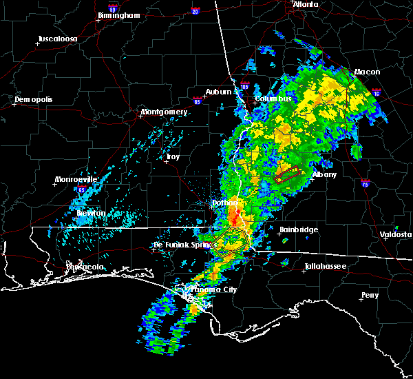 Radar Image for Severe Thunderstorms near Morgan, GA at 11/2/2015 12:50 PM EST