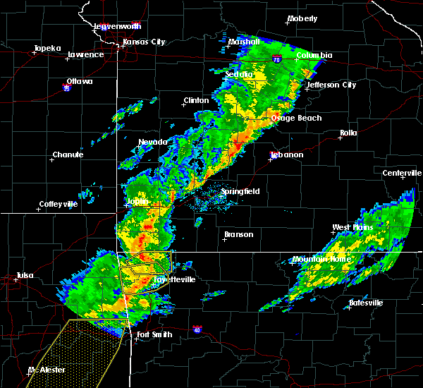 Radar Image for Severe Thunderstorms near Wheaton, MO at 11/5/2015 5:05 PM CST