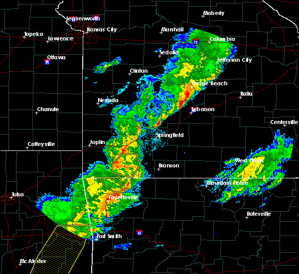 Radar Image for Severe Thunderstorms near Cassville, MO at 11/5/2015 5:29 PM CST