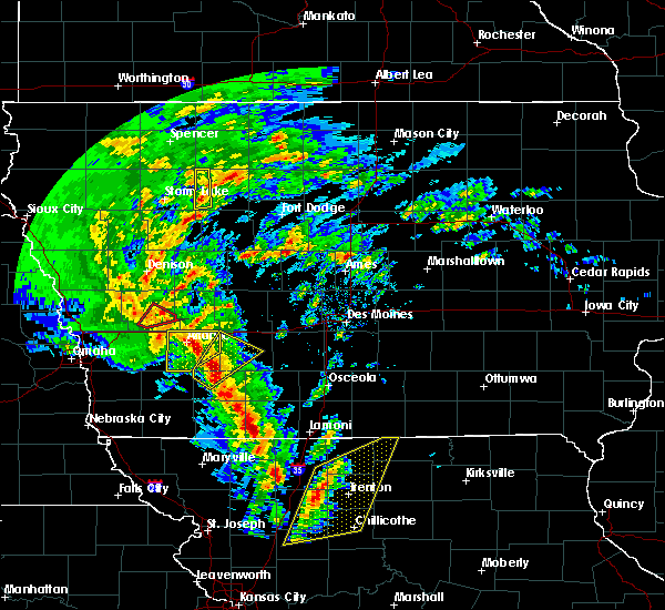 Radar Image for Severe Thunderstorms near Atlantic, IA at 11/11/2015 2:08 PM CST