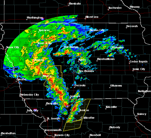 Radar Image for Severe Thunderstorms near Tingley, IA at 11/11/2015 2:23 PM CST