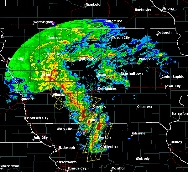 Radar Image for Severe Thunderstorms near Grand River, IA at 11/11/2015 2:42 PM CST