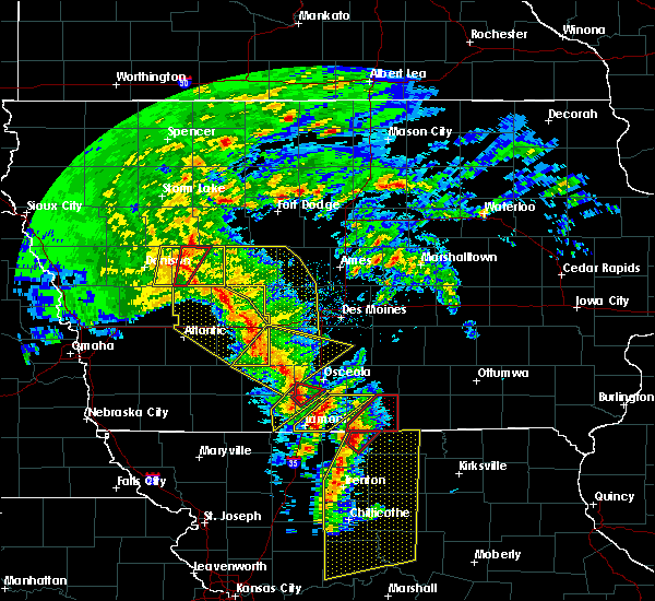 Radar Image for Severe Thunderstorms near Clio, IA at 11/11/2015 2:48 PM CST