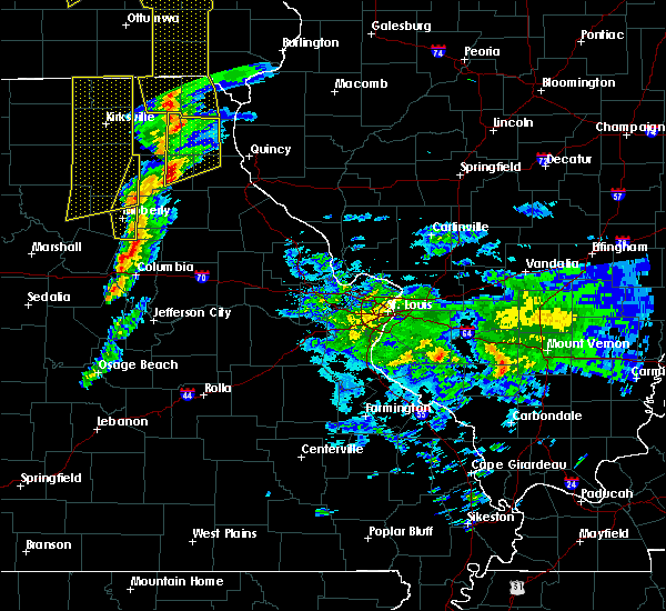 Radar Image for Severe Thunderstorms near Newark, MO at 11/11/2015 4:45 PM CST