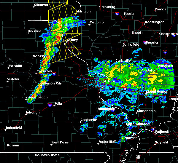 Radar Image for Severe Thunderstorms near Quincy, IL at 11/11/2015 5:08 PM CST