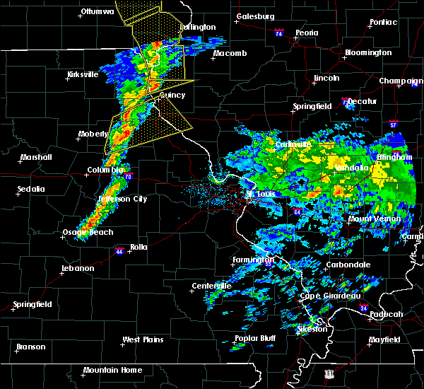 Radar Image for Severe Thunderstorms near Quincy, IL at 11/11/2015 5:21 PM CST