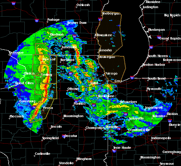 Radar Image for Severe Thunderstorms near Monroe Center, IL at 11/11/2015 7:34 PM CST