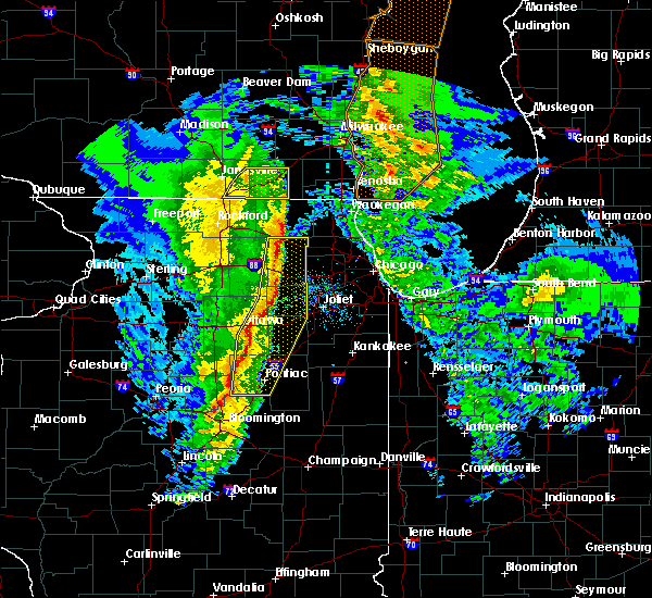Radar Image for Severe Thunderstorms near Minooka, IL at 11/11/2015 8:34 PM CST