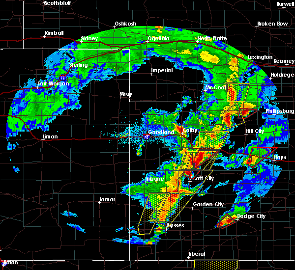 Radar Image for Severe Thunderstorms near Hoxie, KS at 11/16/2015 7:13 PM CST