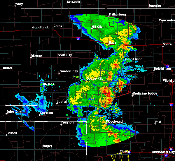 Radar Image for Severe Thunderstorms near Sawyer, KS at 11/16/2015 11:13 PM CST