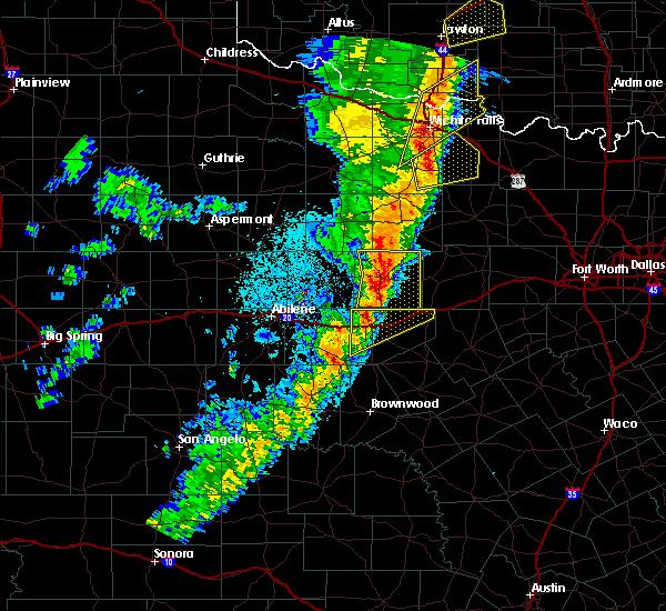 Radar Image for Severe Thunderstorms near Ranger, TX at 11/17/2015 1:12 AM CST
