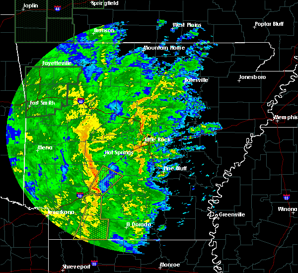 Radar Image for Severe Thunderstorms near Gurdon, AR at 11/17/2015 11:37 AM CST