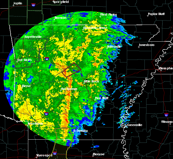 Radar Image for Severe Thunderstorms near Morrilton, AR at 11/17/2015 12:43 PM CST