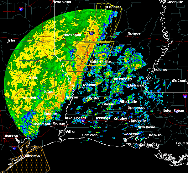 Radar Image for Severe Thunderstorms near Hodge, LA at 11/17/2015 1:12 PM CST