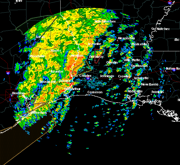 Radar Image for Severe Thunderstorms near Longville, LA at 11/17/2015 2:40 PM CST