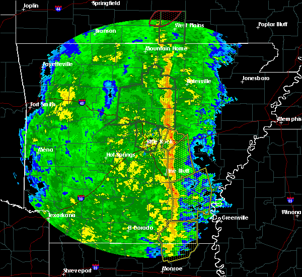 Radar Image for Severe Thunderstorms near Star City, AR at 11/17/2015 3:03 PM CST