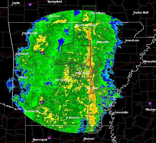 Radar Image for Severe Thunderstorms near Watson, AR at 11/17/2015 3:23 PM CST